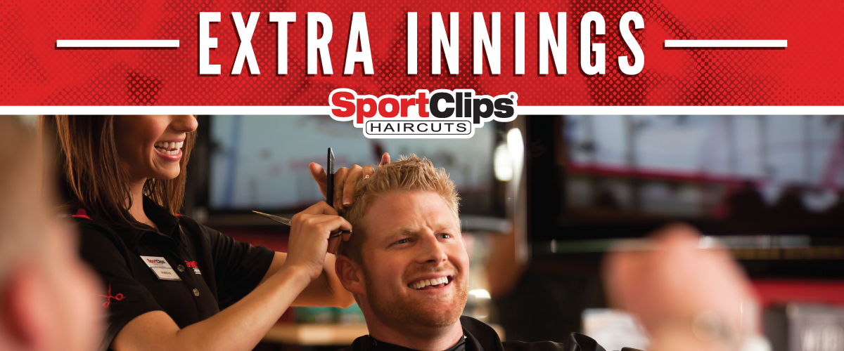 The Sport Clips Haircuts of Silverlake Extra Innings Offerings